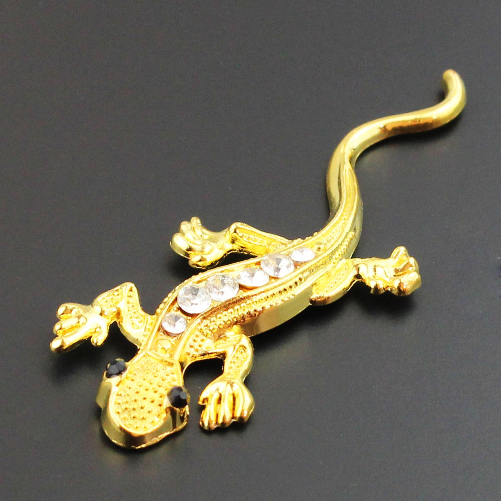 New Metal 3d Spider Gecko Turtle Dragon Emblem Decal